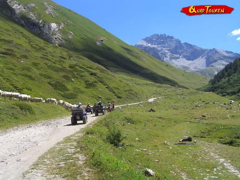 Quad fahren im Piemont