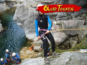 Quad & Rafting/Canyoning