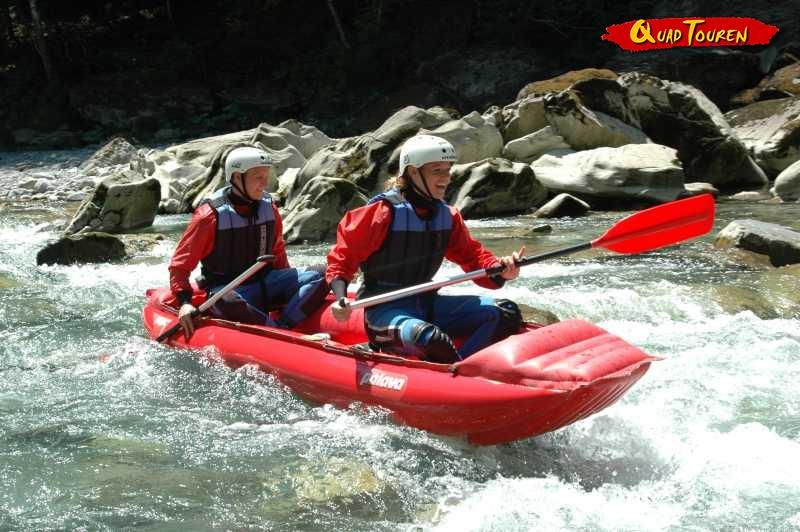 Quad & Rafting/Canyoning