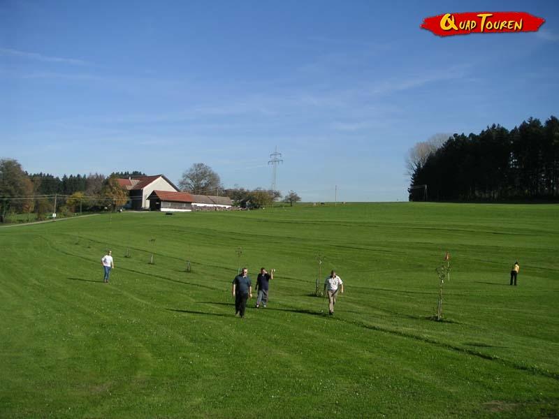 Quad & Freizeitgolf und Fußballgolfen